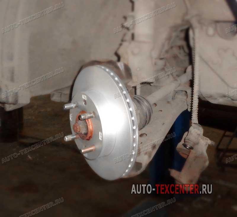 замена тормозных дисков Киа Пиканто