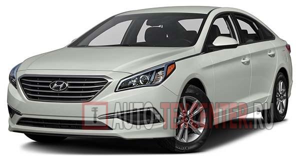 Расположение вин номера Hyundai Sonata 7 (LF)