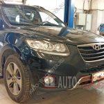 Замена помпы Hyundai Santa Fe