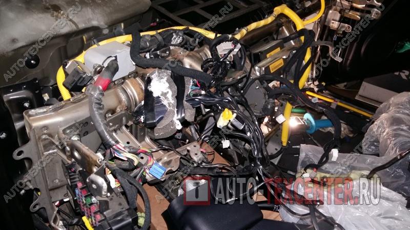 Замена радиатора печки Kia Sportage 2