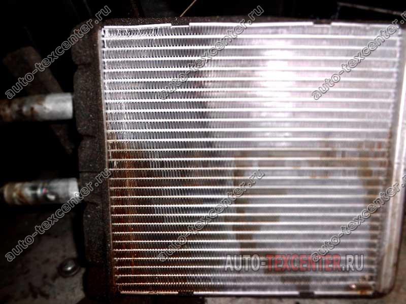 замена радиатора печки Киа Спортейдж 1