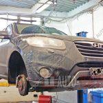 Замена тормозных дисков Hyundai Santa Fe
