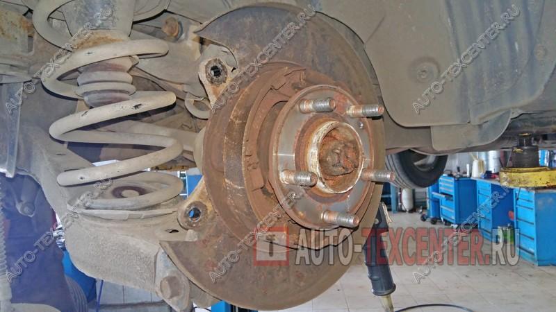 замена тормозных дисков Хендай Санта Фе