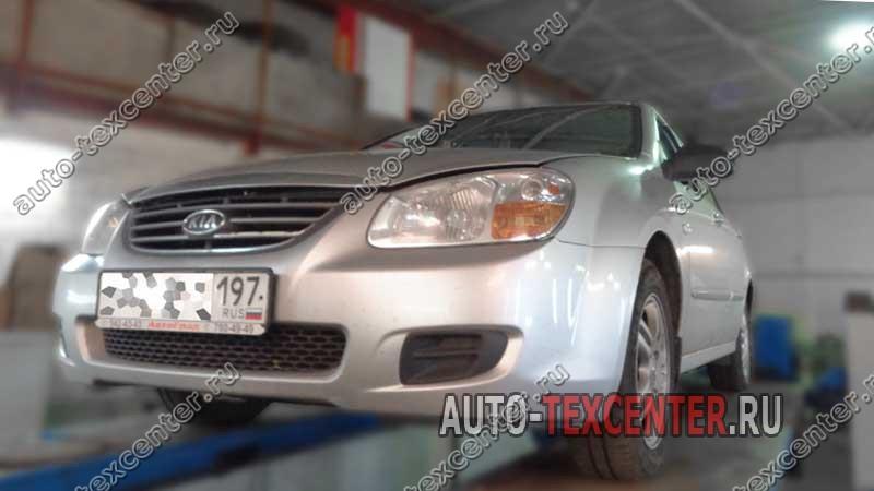 Замена топливного фильтра Kia Cerato LD