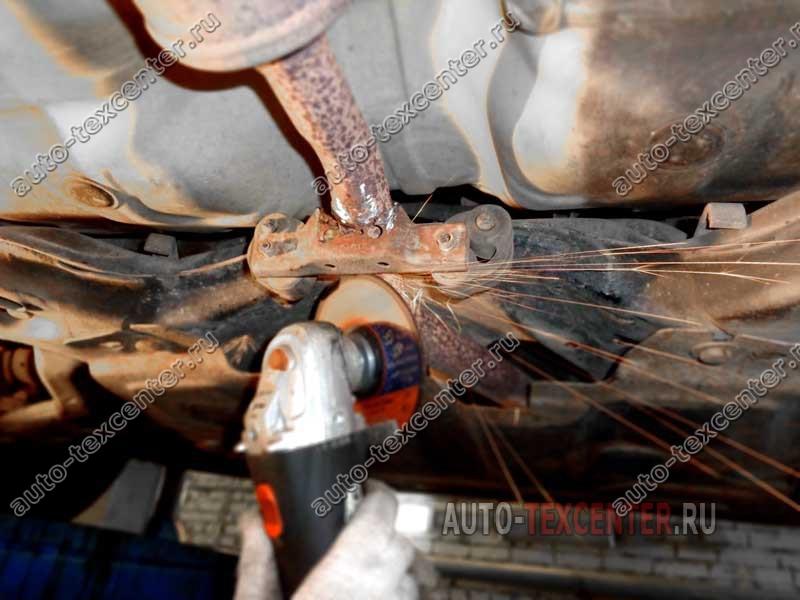 ремонт глушителя Киа Пиканто