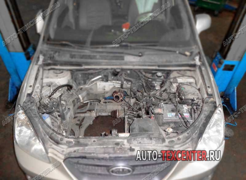 Замена и ремонт двигателя Kia Carens