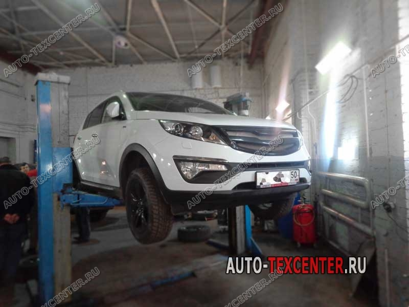 Замена пыльника тормозного цилиндра Kia Sportage SL