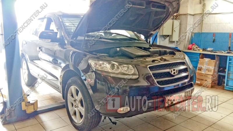 Замена главного цилиндра сцепления Hyundai Santa Fe