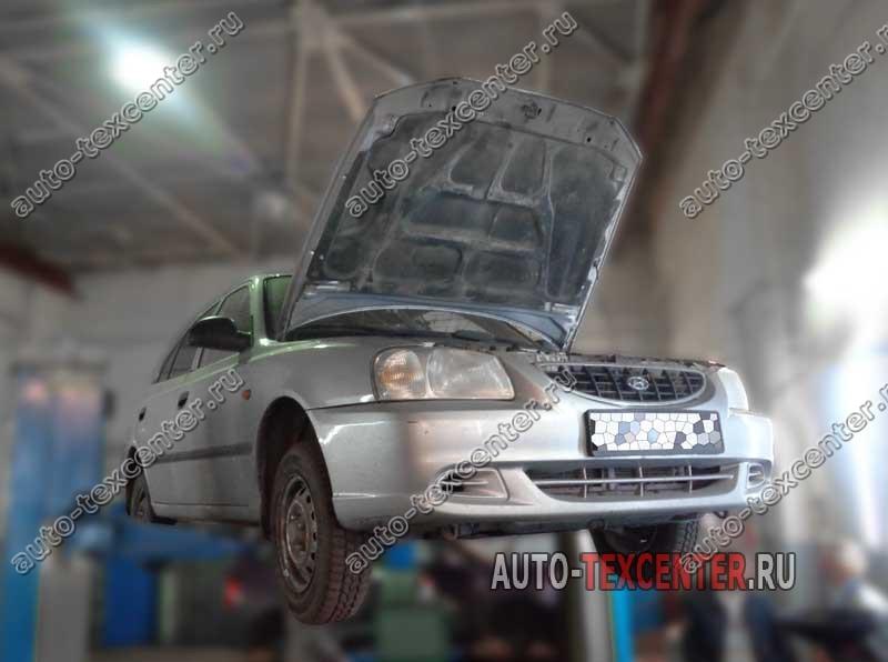 замена тормозных дисков Hyundai Accent