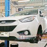 Замена тормозных дисков Hyundai IX35