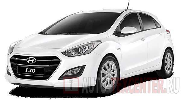 Расположение вин номера Hyundai i30 3 (PD)