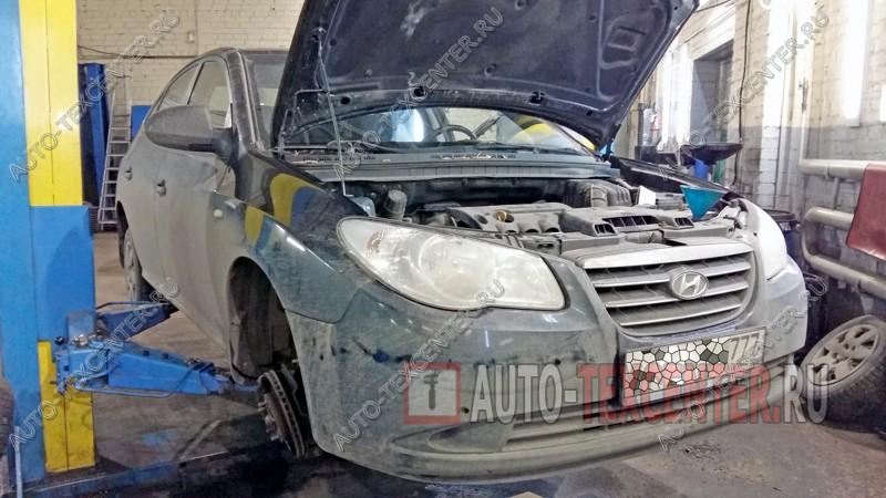 замена амортизаторов Hyundai Elantra