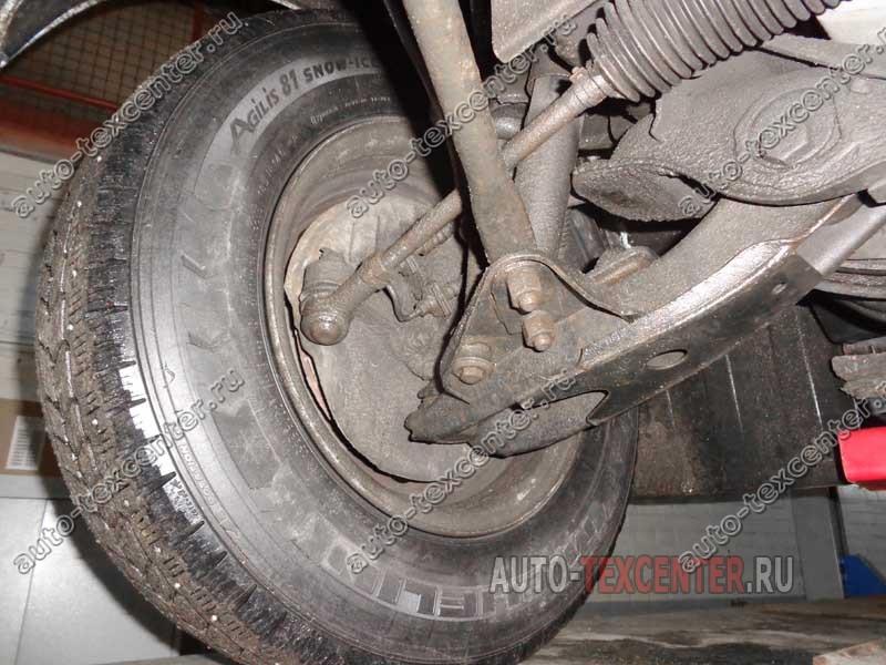 ремонт рулевой рейки Хендай Портер