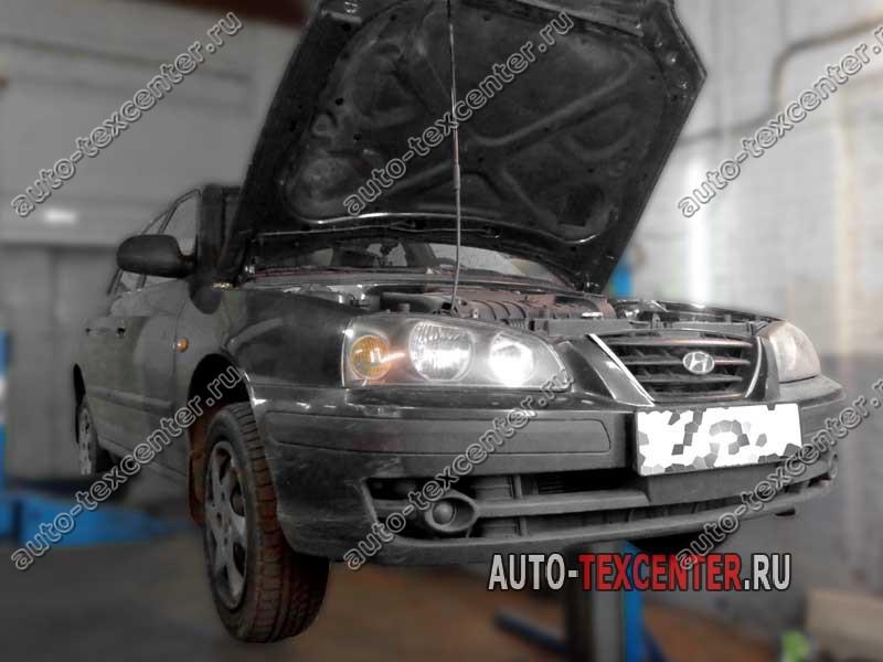 Замена рулевой рейки Hyundai Elantra