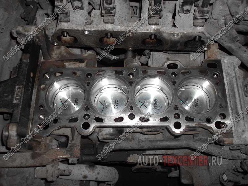 ремонт двигателя Киа Рио