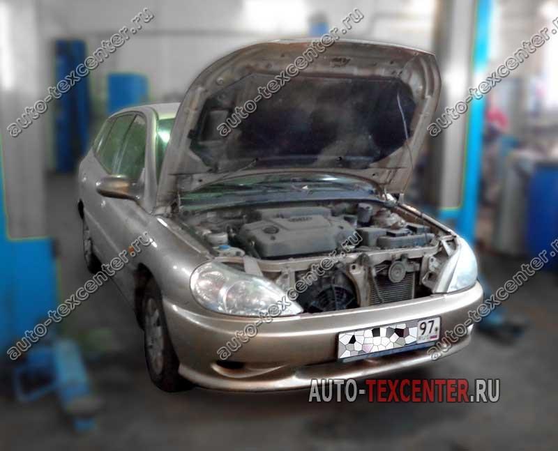 ремонт двигателя Kia Rio
