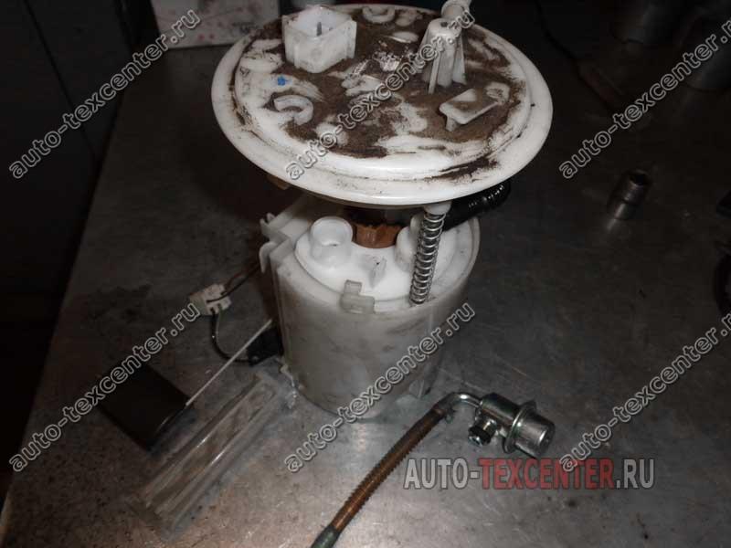 замена топливного фильтра Хендай Элантра 4