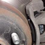 замена тормозных колодок по кругу Киа Рио 3
