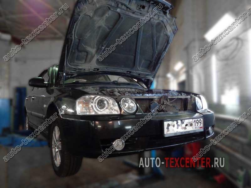 промывка радиатора двигателя Киа Маджентис