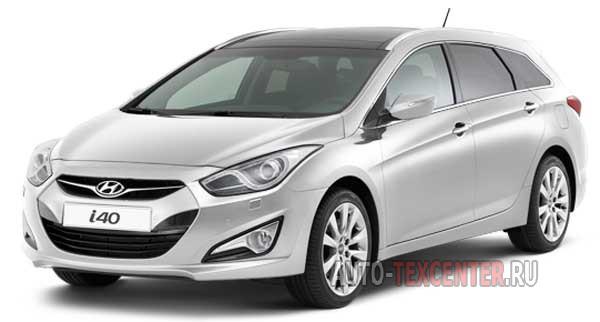 Расход топлива Hyundai I40 1 (DF)