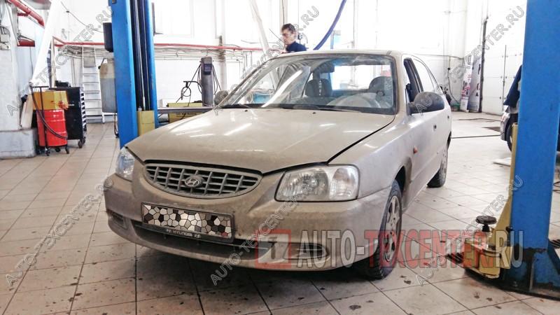 Замена подшипника ступицы Hyundai Accent