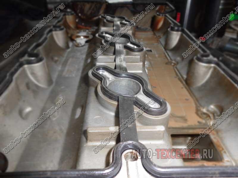 замена прокладки клапанной крышки Хендай ix55