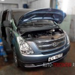 Замена масла АКПП Hyundai Starex