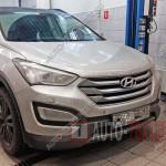 Замена стоек стабилизатора Hyundai Santa Fe