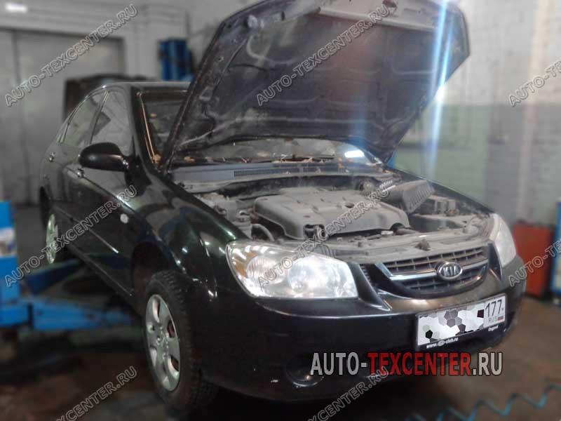 Замена-стоек-стабилизатора-Kia-Cerato-LD