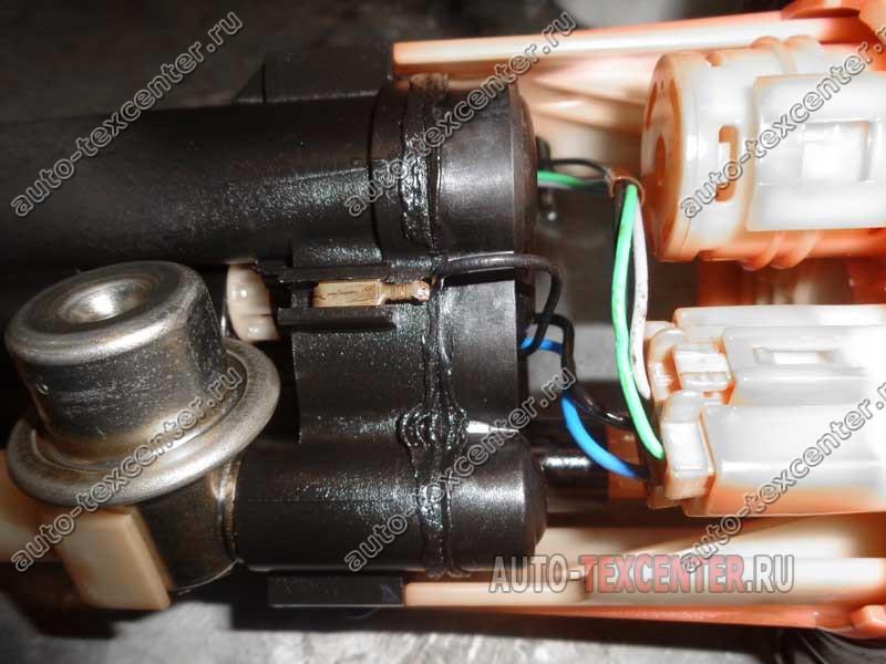 Замена топливного фильтра Hyundai Getz (4)