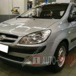 Замена топливного фильтра Hyundai Getz