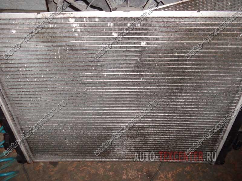 промывка радиатора двигателя Киа Сид
