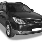 Замена гофры глушителя Hyundai IX55