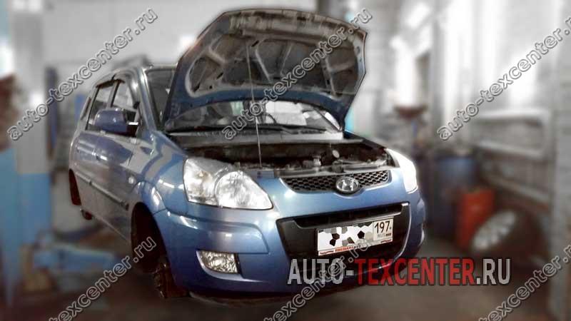 Замена амортизаторов Hyundai Matrix