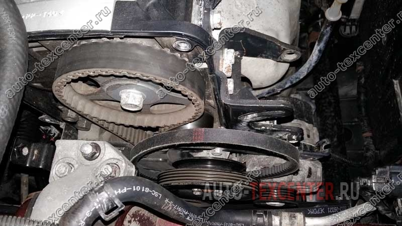 Замена помпы Hyundai Accent (1)