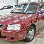 Замена помпы Hyundai Accent