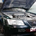 Замена приводного ремня Hyundai Sonata NF