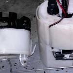 Замена топливного фильтра Kia Sportage
