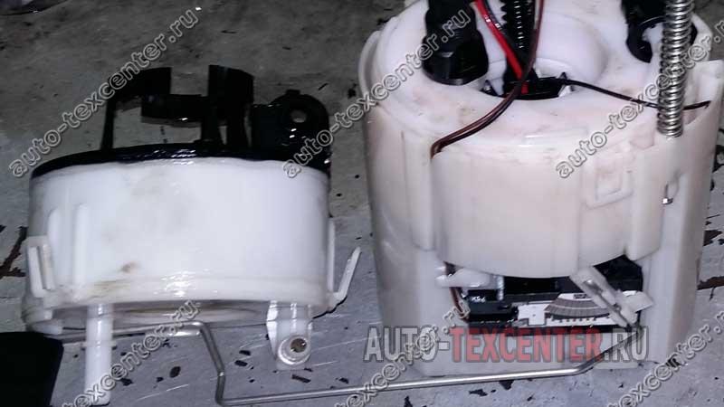 замена топливного фильтра Киа Спортейдж 3