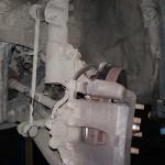 Замена стоек стабилизатора Kia Rio 3