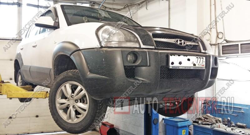 Замена подшипника ступицы Hyundai Tucson