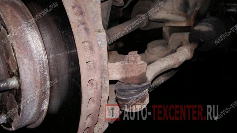 замена рулевых наконечников Киа Соренто