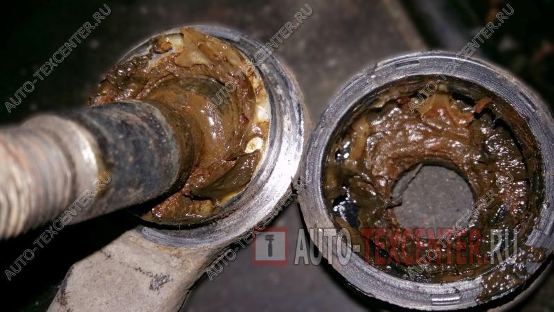 Замена рулевых наконечников Kia Sorento (3)