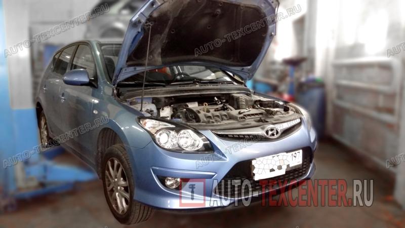 Замена топливного фильтра Hyundai I30
