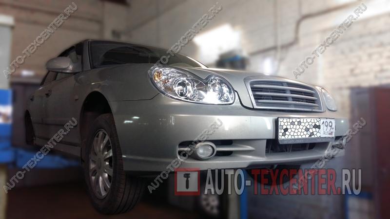 Замена колодок руника Hyundai Sonata (1)