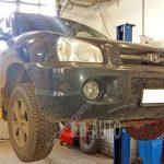 Замена подшипника ступицы Hyundai Santa Fe классик