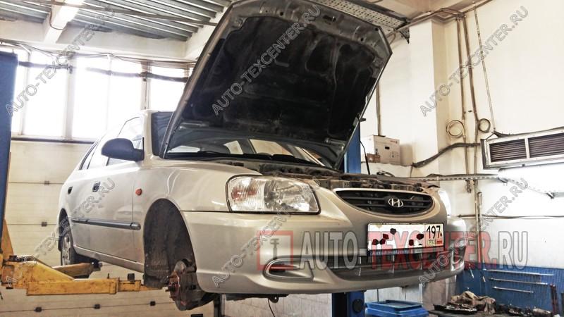 Замена ремня ГРМ Hyundai Accent
