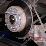 Замена ступицы Kia Cerato 1