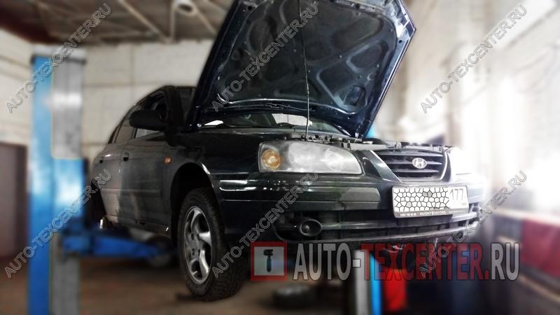 Замена пружин Hyundai Elantra (1)