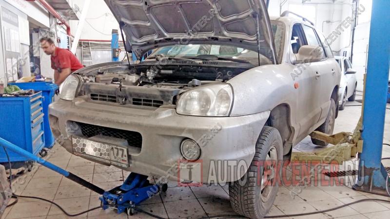 Замена ремня ГРМ Hyundai Santa Fe